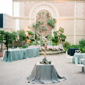 San Francisco Courtyard Reception Venue