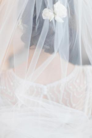 Sheer Bridal Veil