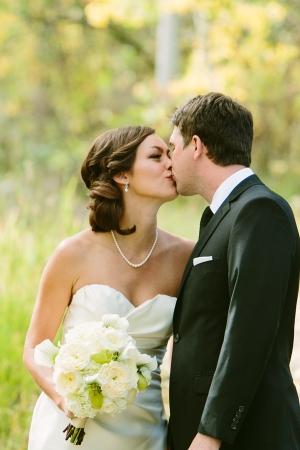 Sideswept Bridal Updo