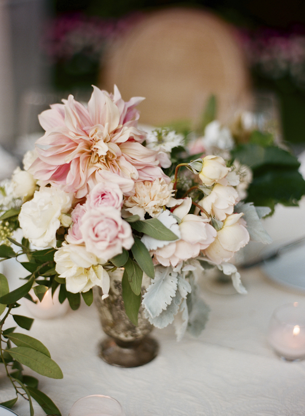 Small Pink and Green Floral Arrangement