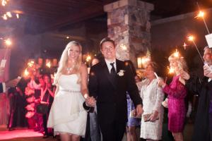 Sparkler Wedding Send Off