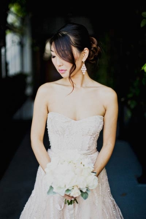 Strapless Corset Style Wedding Gown