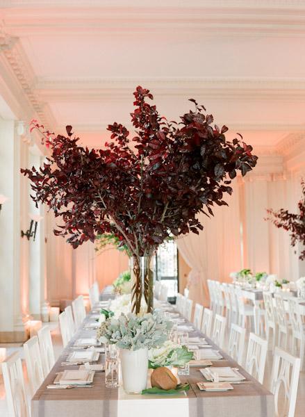 Tall tree centerpiece elizabeth anne designs the