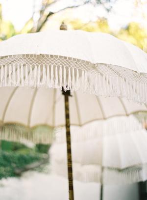 Umbrellas With Tassel Fringe