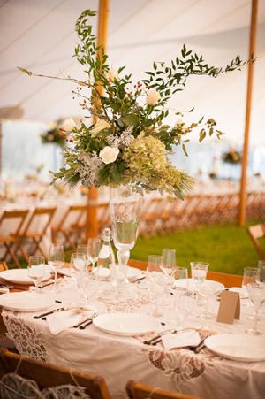 Vintage White Table Linens
