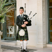 Wedding Bagpipe Player