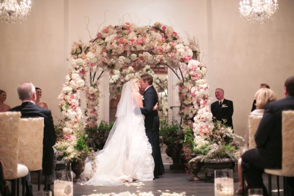 Wedding Ceremony Rose Arch