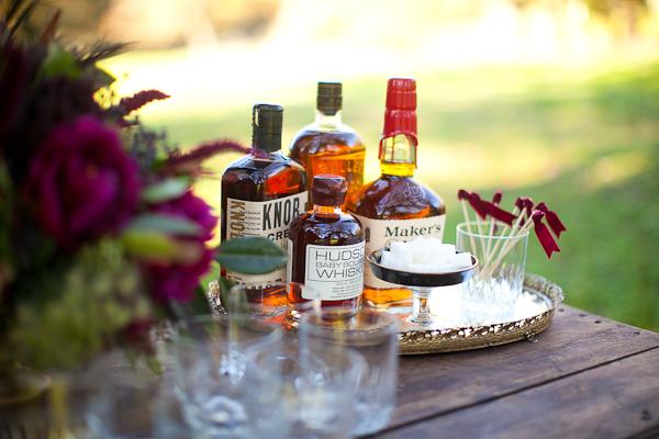 Wedding Drinks Whiskey Bar
