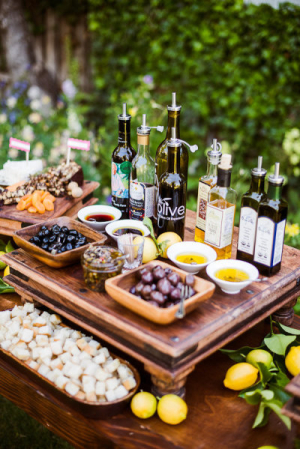 Olive Oil and Bread Bar