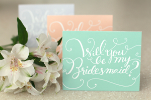 Will You Be My Bridesmaid Printable Card
