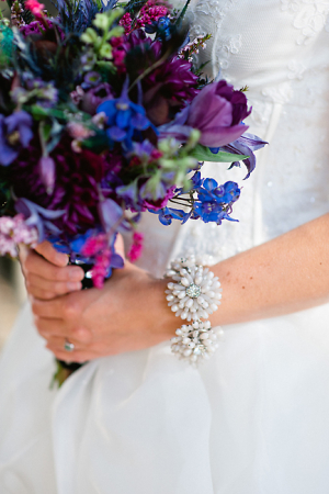 Blue and Purple Wildflower Bouquet