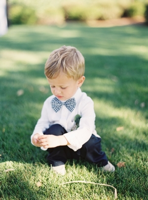 Boys Ginghams Bow Tie