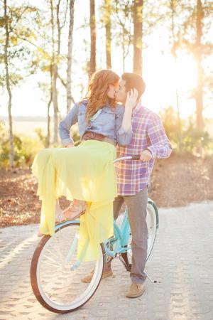 Charming Bicycle Love Shoot