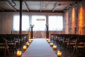 Chicago Gallery Wedding Venue With Brick Walls