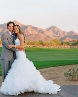 Couple Outdoor Mountain Portrait From Carrie Patterson Fine Art Weddings