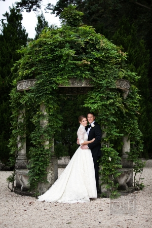 Couple Portrait in Gazebo