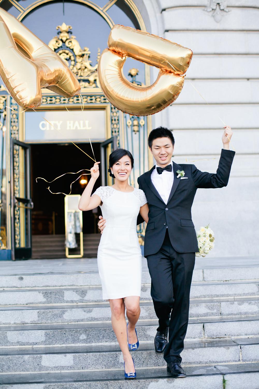 San Francisco City Hall Wedding From Connie Lyu
