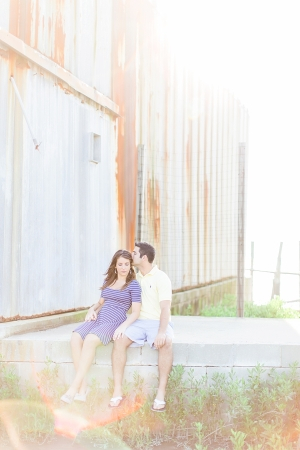 Couple in Boatyard
