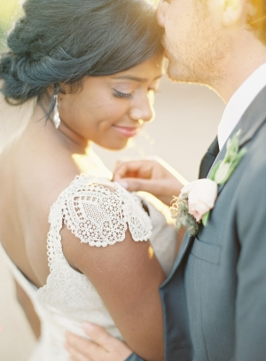 Crocheted Lace Wedding Gown Sleeve