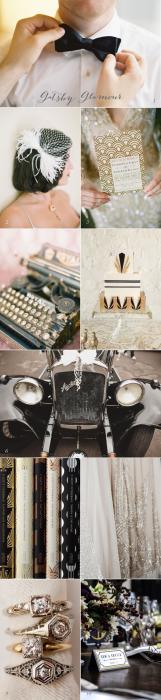 Current Crush Great Gatsby Wedding Inspiration