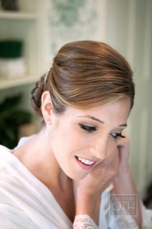 Elegant Neutral Bridal Makeup