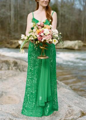 Emerald Bridesmaids Dress