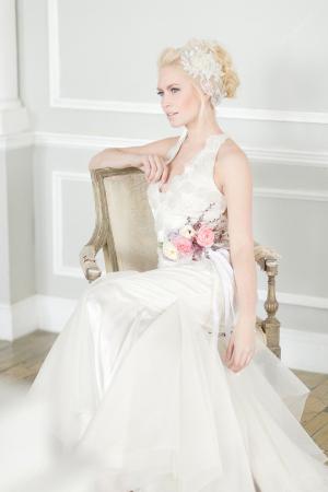 Flower Hairpiece Bridal Ideas