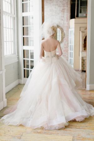 Fluffy Wedding Ballgown