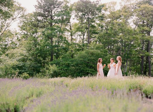 Girls in Lavender Field