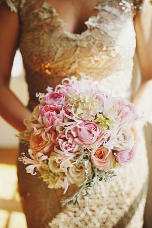 Gold Bridesmaids Dress