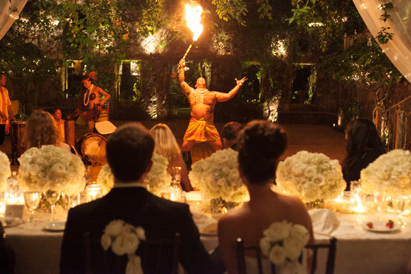 Hawaiian Dancers At Reception Elizabeth Anne Designs The Wedding Blog