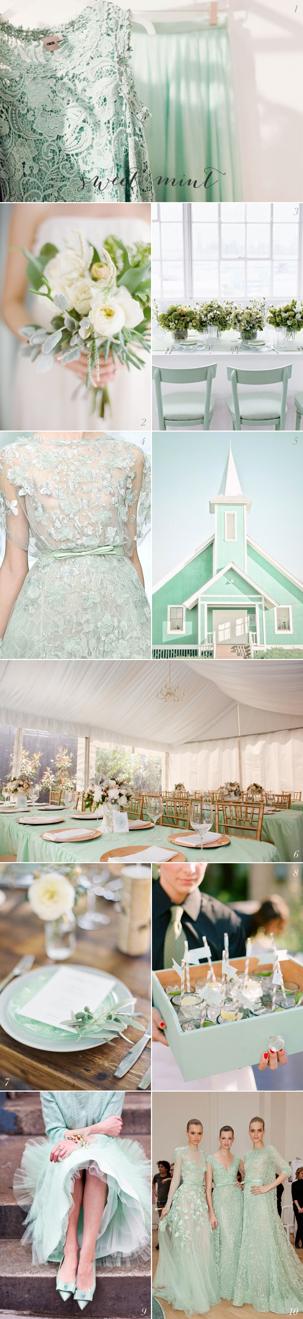 Mint Wedding Colors