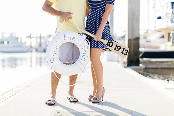 Nautical Save the Date Announcement