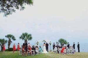 Outdoor Beachfront Wedding Ceremony