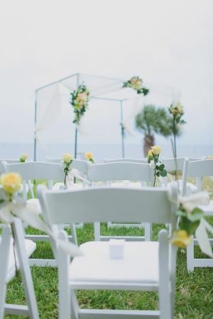 Outdoor Beachfront Wedding Ceremony Venue