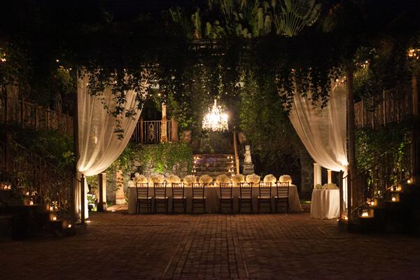 Outdoor Hawaiian Reception Venue