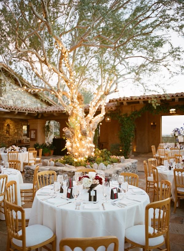 Outdoor patio reception venue ideas elizabeth anne for Wedding venue decoration ideas