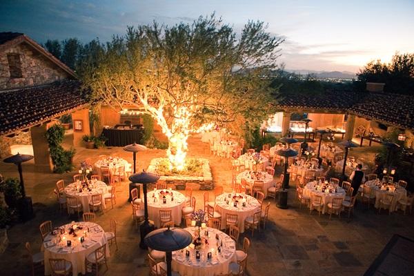 Outdoor Southwestern Reception Venue