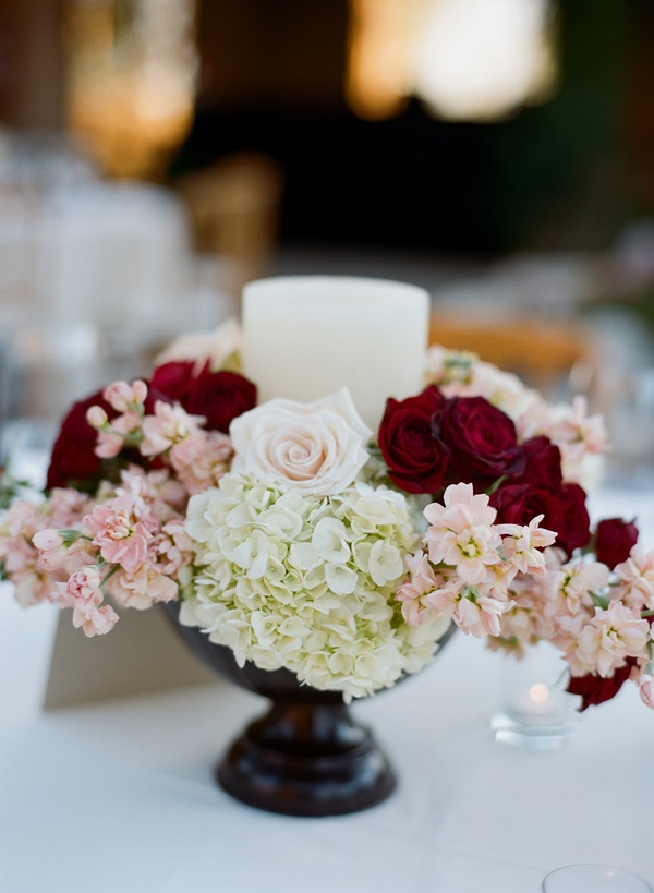 Pink Red White Centerpieces Elizabeth Anne Designs The