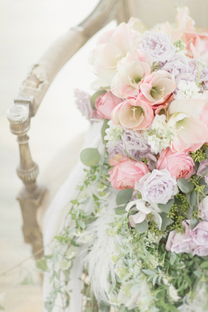 Pink and Lavender Floral Bouquet