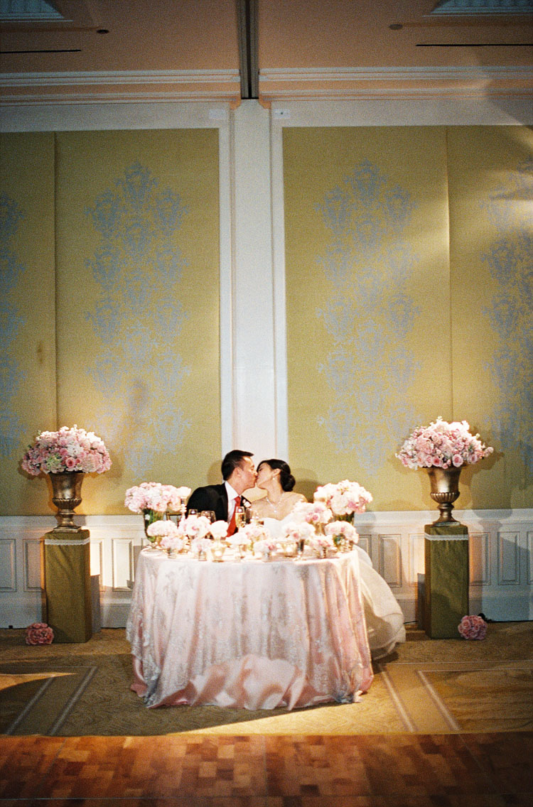 Bride Groom Table Decoration Pink And White Bride And Groom Table Elizabeth Anne Designs The
