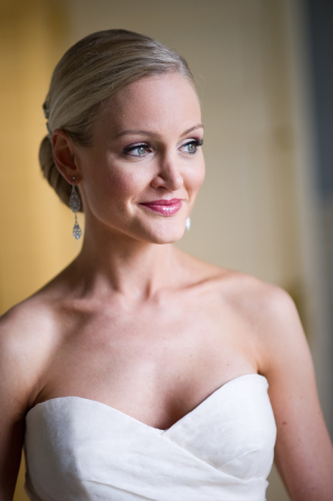 Rhinestone Drop Earrings Bridal Jewelry