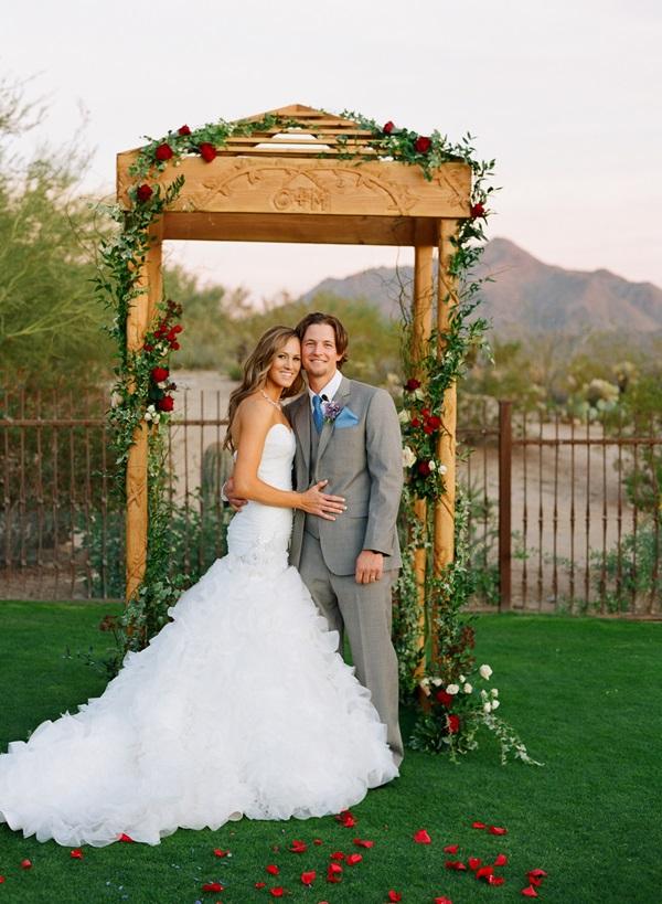 Rustic Elegant Wedding Arch - Elizabeth Anne Designs: The ...