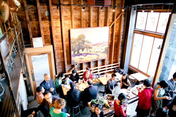 San Francisco Restaurant Reception Venue