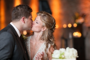 Sleeveless Beaded Wedding Gown