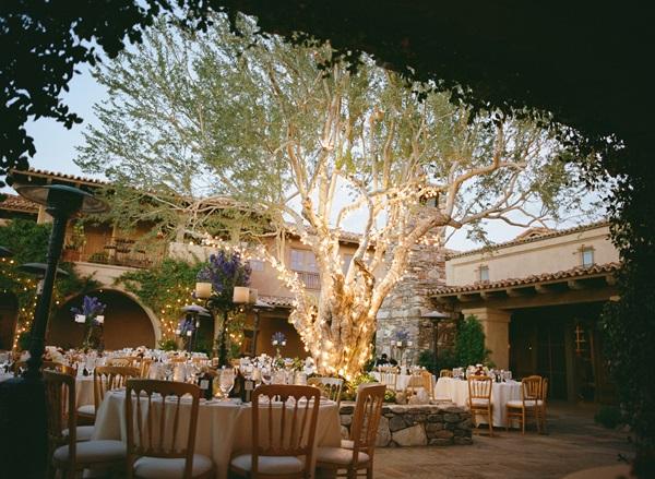 Southwestern Reception Venue With Stone Patio