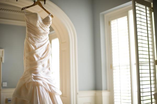 Strapless Contemporary Monique Lhuillier Gown