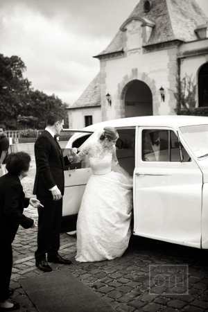 Vintage Limo Wedding