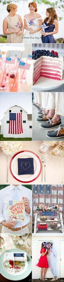 Americana Wedding Ideas