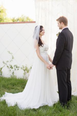 Backyard Wedding Ceremony Inspiration